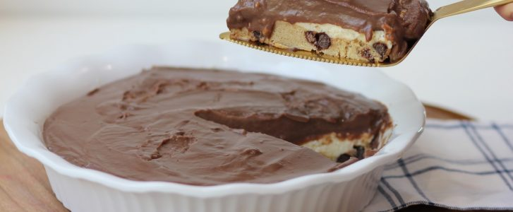 Gluten-Free Chocolate Chip Cookie Dough Pie Recipe
