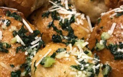 Gluten-Free Parsley Garlic Dinner Rolls