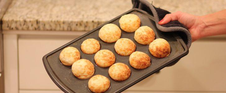 Pao de Queijo [Brazilian Cheese Bread] Gluten-Free Recipe